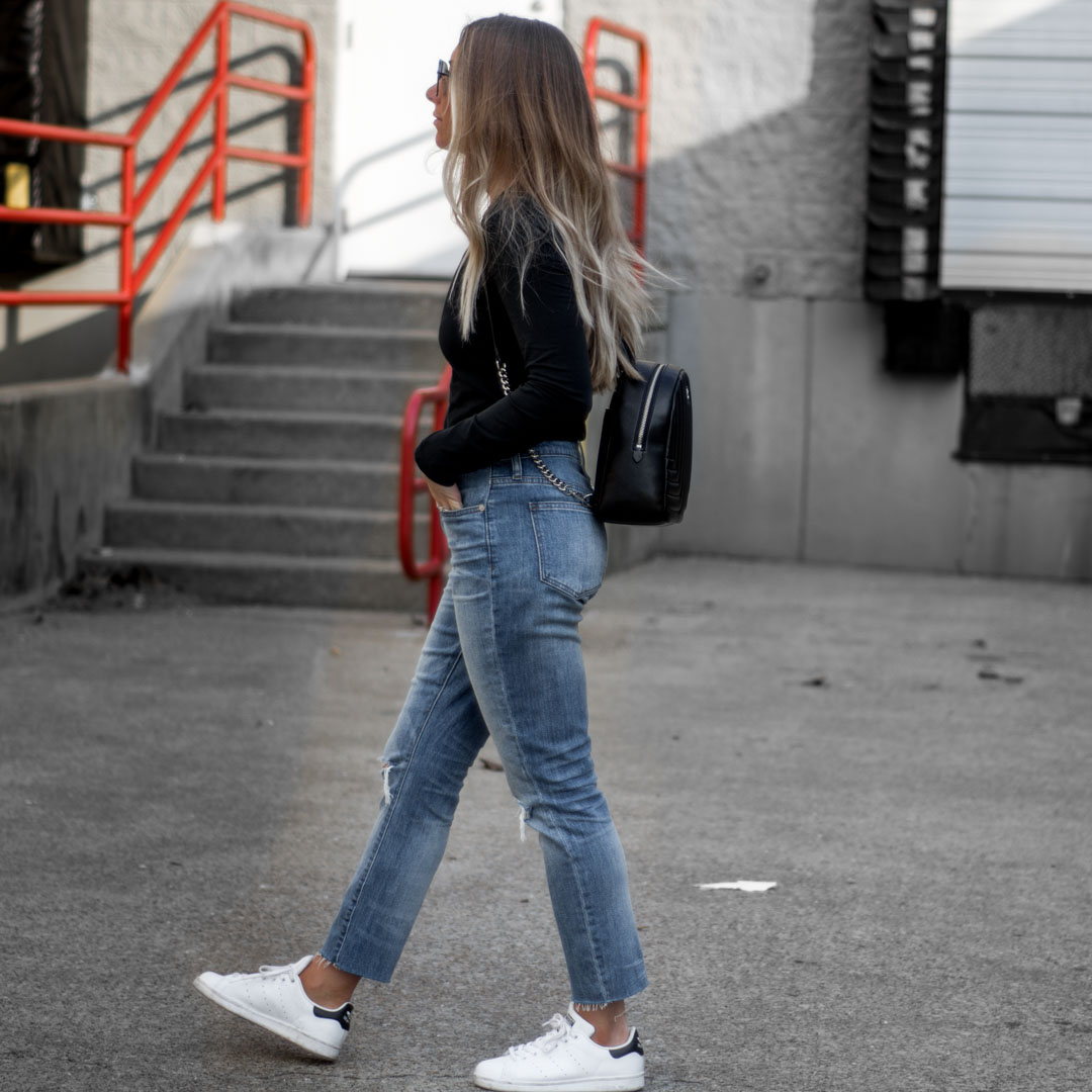 where to buy sale retailer on feet shots of MADEWELL RIPPED HIGH WAIST SLIM BOYFRIEND JEANS Archives ...